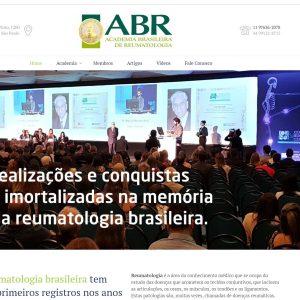 Site e redes sociais da ABR